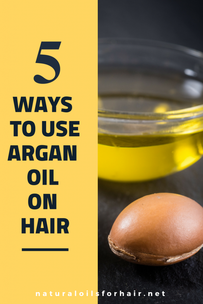 5 ways to use argan oil on hair