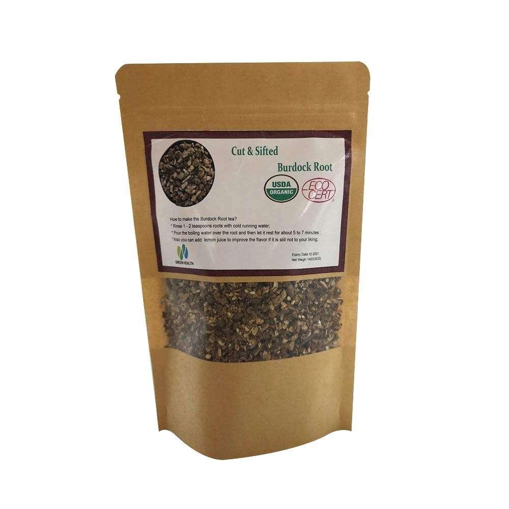 Green Health Inc Organic Dried Burdock Root