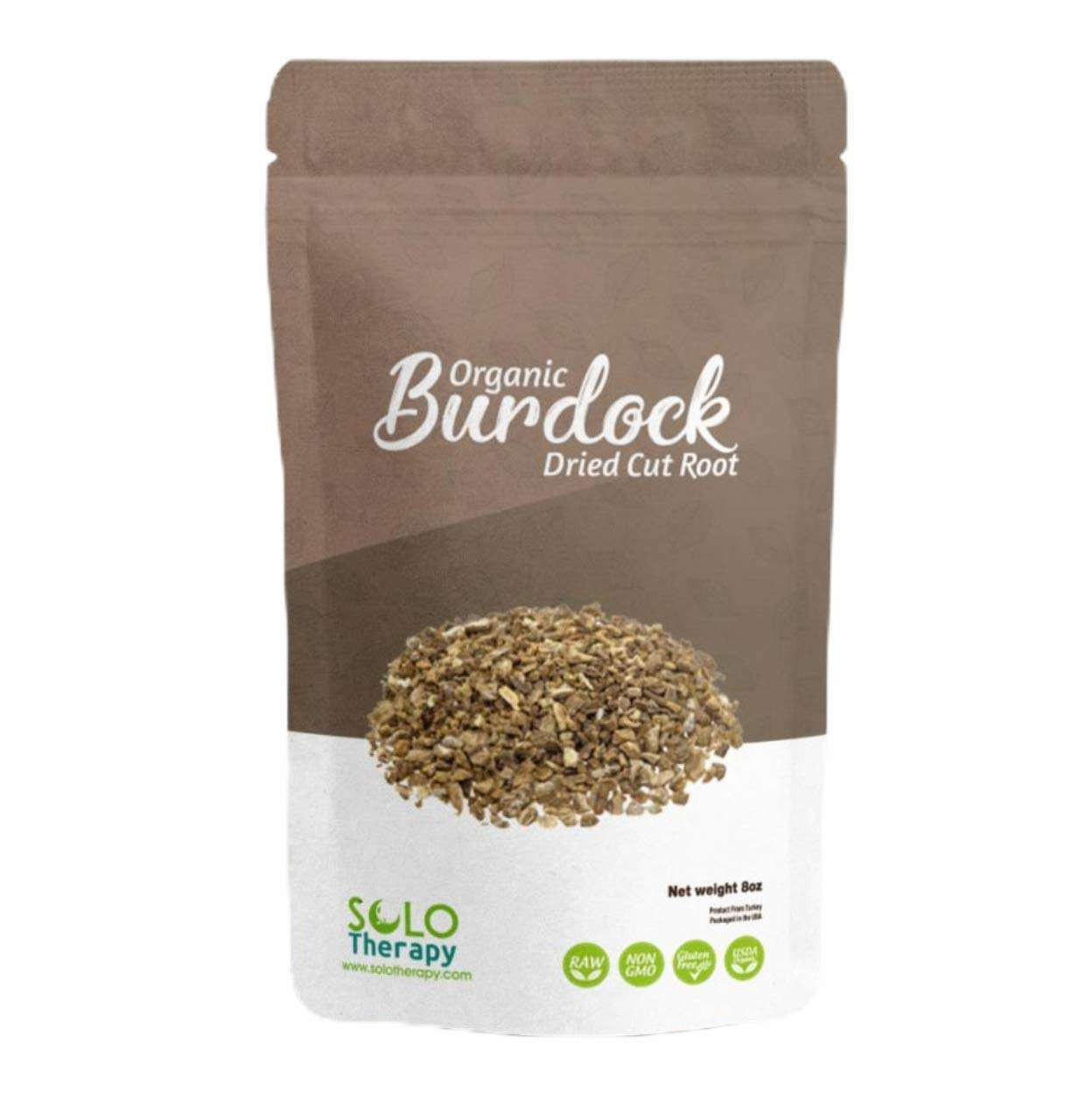 Solo Therapy Organic Dried Burdock Root