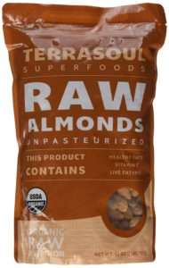 Terrasoul Raw Organic Almonds