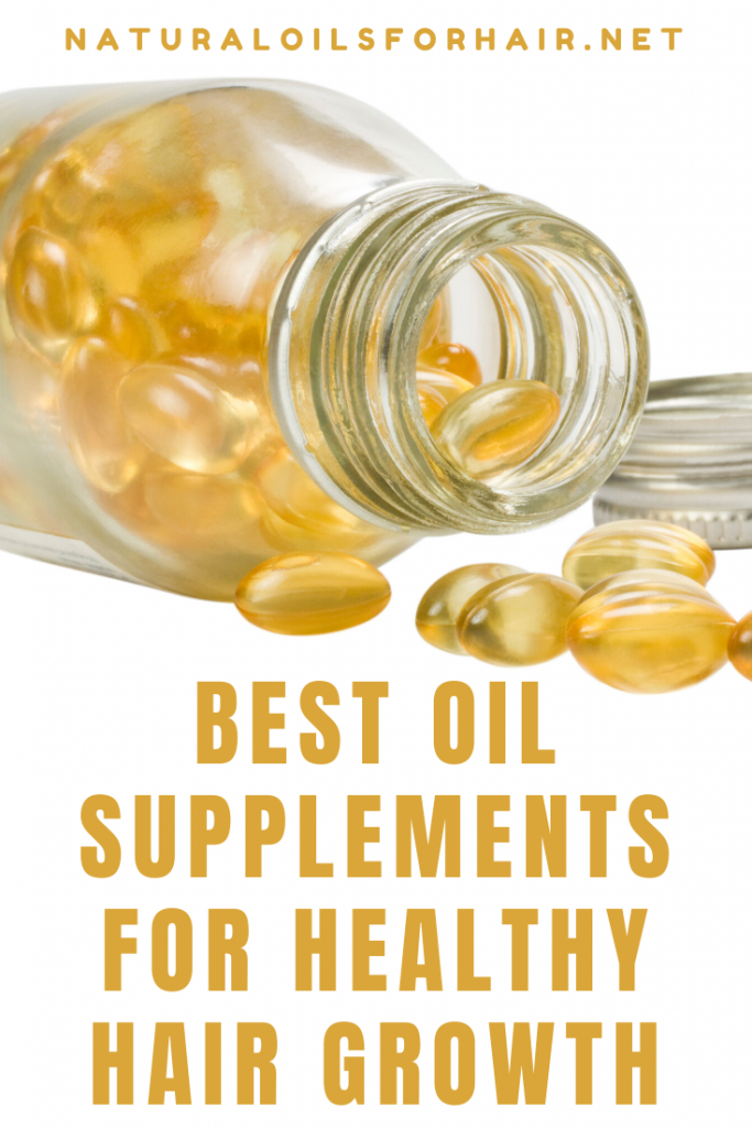 Achieve healthy hair from the inside by incorporating the right oil supplements