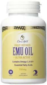 Emu Gold Fully Refined Oil Softgels