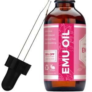 Leven Rose Organic Pure Emu Oil