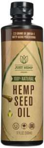 just hemp foods cold pressed hemp seed oil