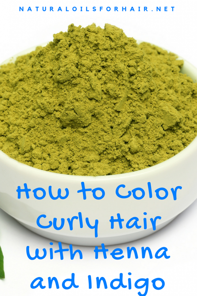 How to Color Curly Hair with Henna and Indigo