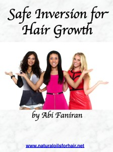 safe inversion for hair growth
