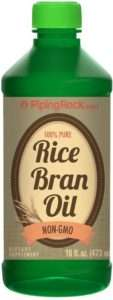 Piping Rock Rice Bran Oil