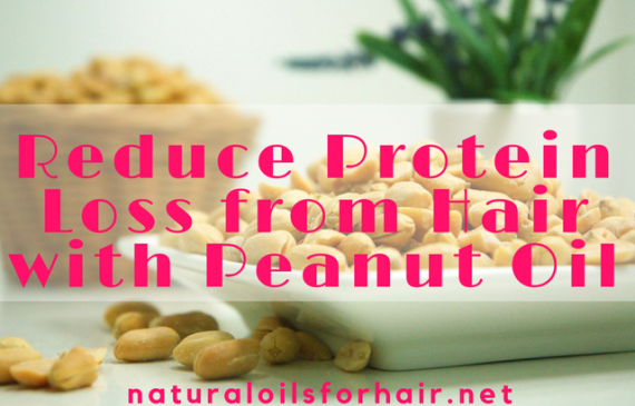 peanut oil for hair