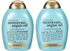 organix moroccan oil shampoo and conditioner