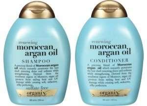 organix moroccan oil shampoo and conditioner