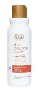 Raw Sugar Mango Butter + Agave + Carrot Oil Conditioner review