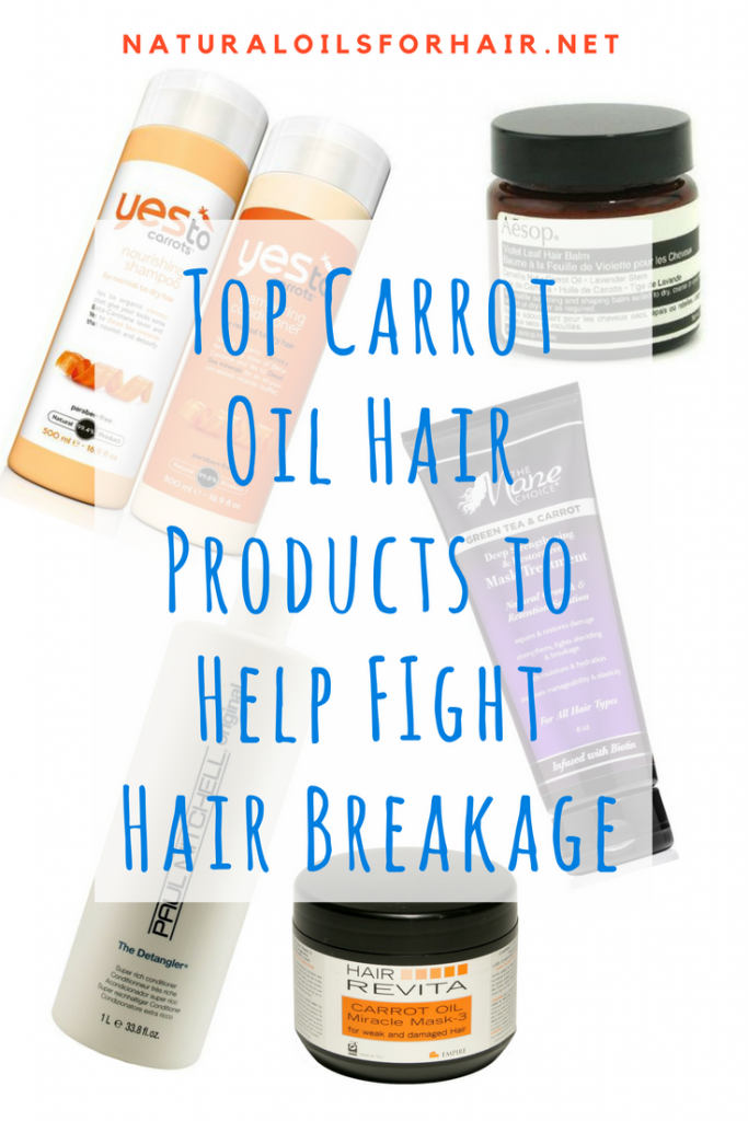 Top Carrot Seed Oil Hair Care Products to Help Fight Hair Breakage