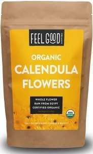 feel good organics calendula flowers