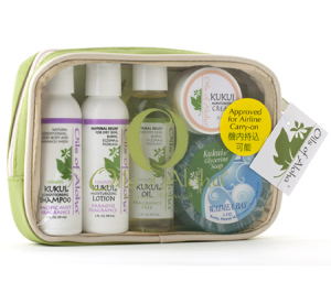 oils of aloha kukui nut hair care set