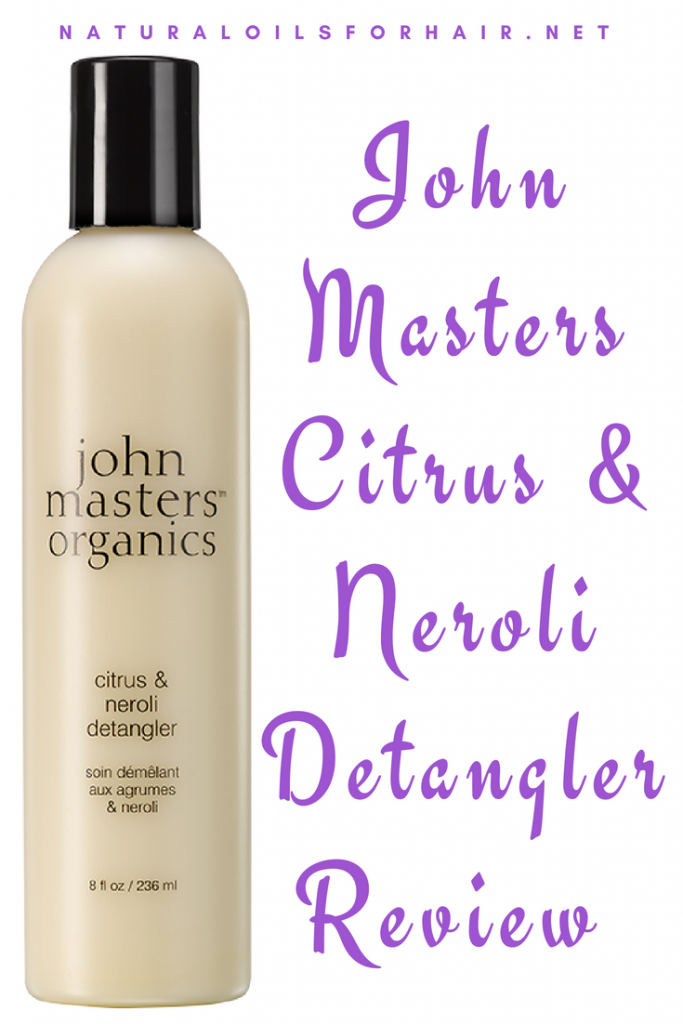 John Masters Citrus & Neroli Detangler Review Plus Pros and Cons
