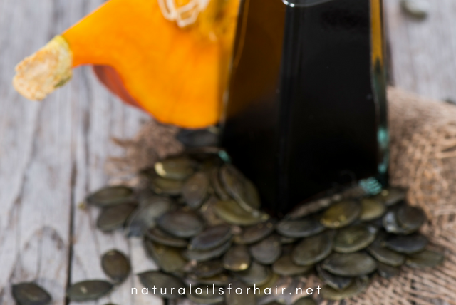 Pumpkin Seed Oil for Hair Growth & Stronger Follicles