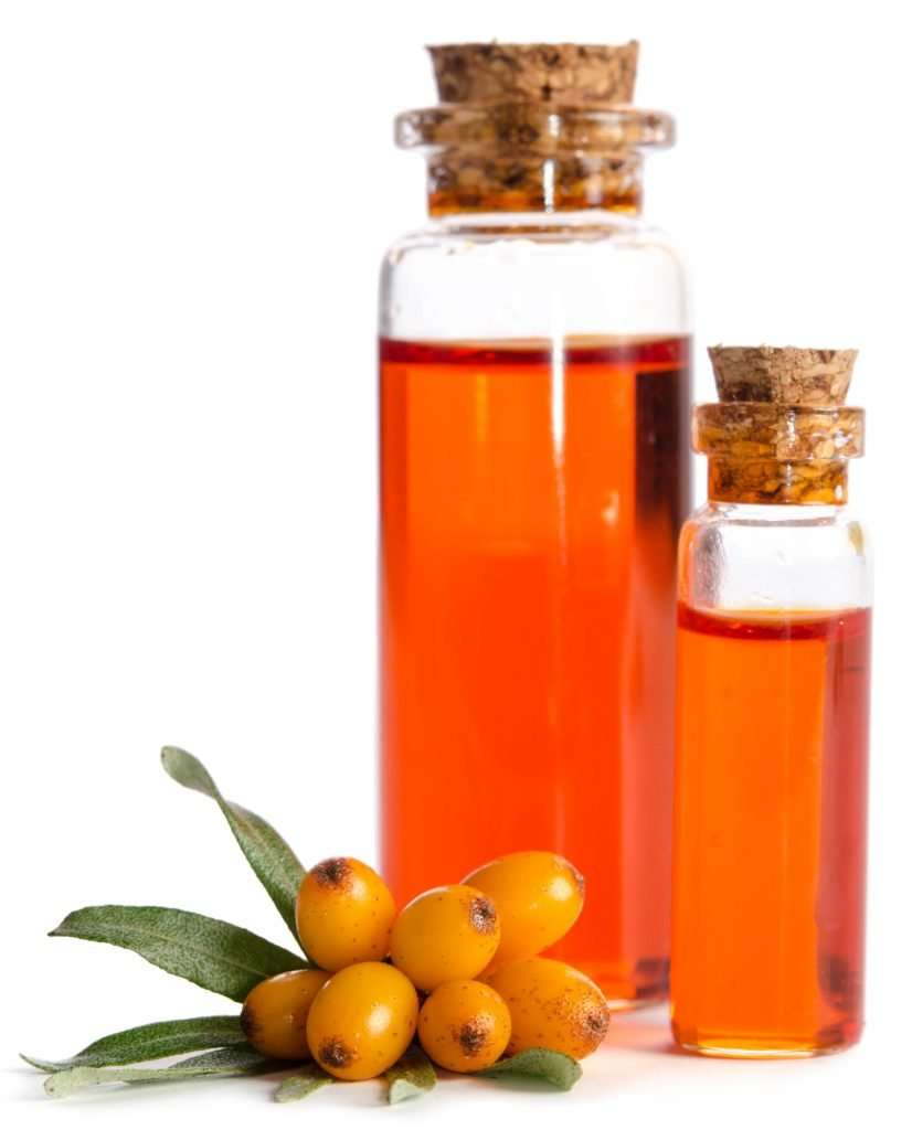 Sea buckthorn oil for hair