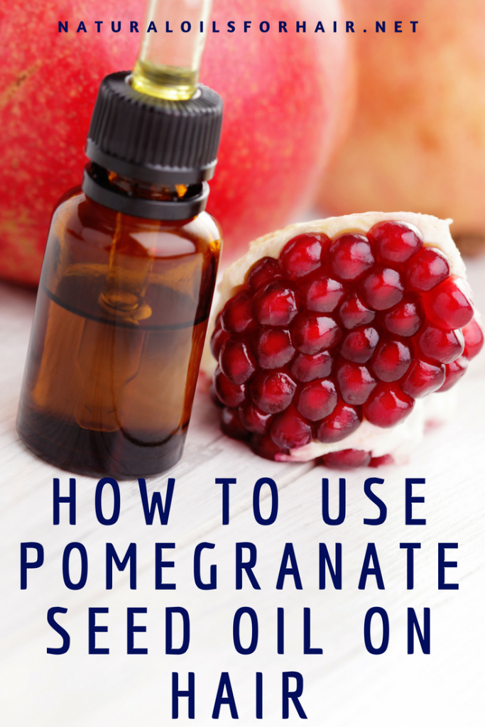 How to use pomegranate seed oil on hair