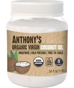Anthony's Organic Virgin Coconut Oil