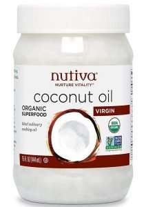 Nutiva Organic Cold-Pressed Virgin Coconut Oil