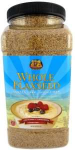 Premium Gold Whole Flax Seed