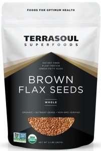 Terrasoul Organic Golden Flax Seeds