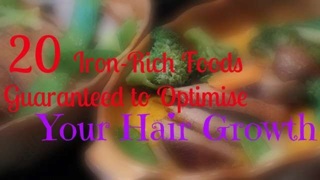 20-iron-rich-foods-for-hair-growth