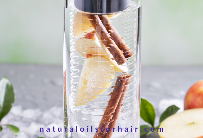 Cinnamon flavored water for diet