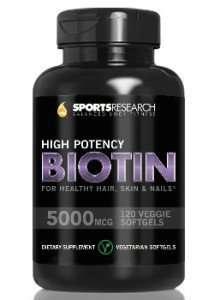 Sports Research High Potency Biotin