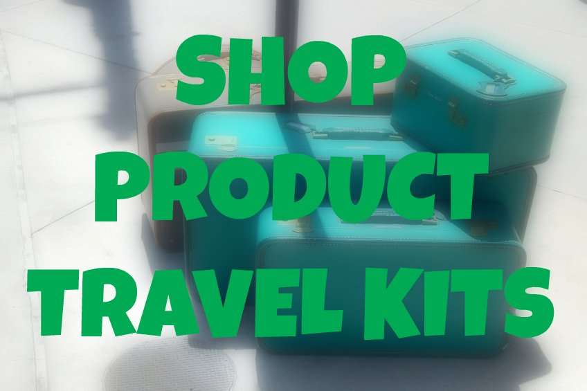 hair care products travel kits