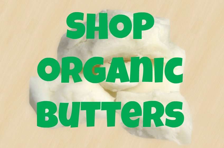 organic raw butters for hair shop