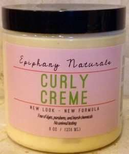 Epiphany Naturals Curly Creme with Argan Oil