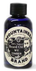Mountaineer brands natural beard oil