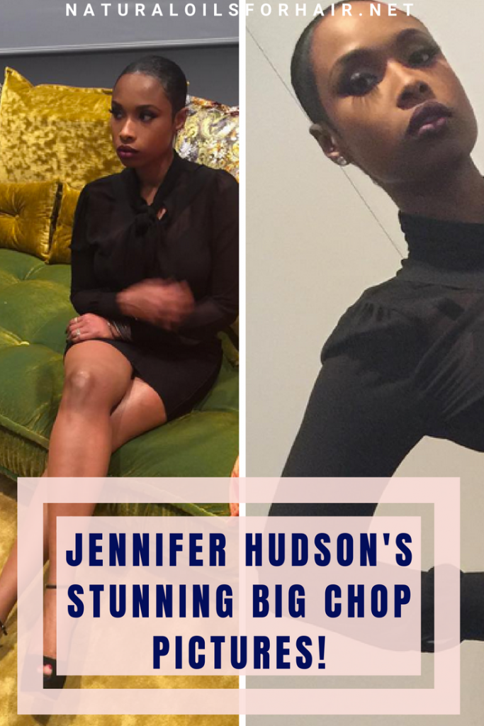 Jennifer Hudson's Big Chop Pictures