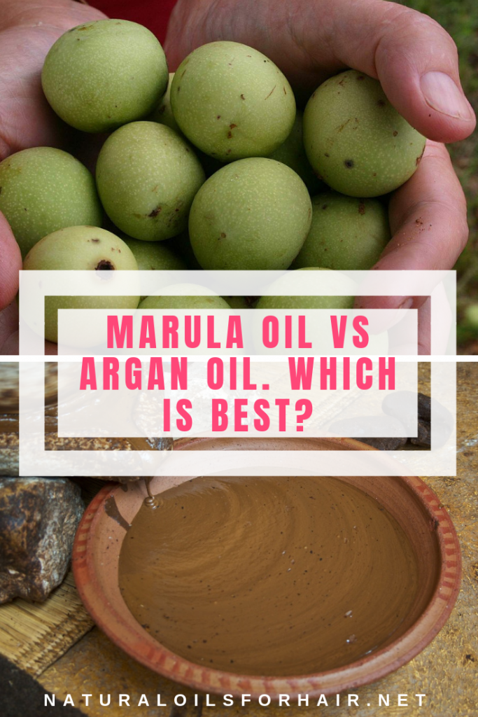 Marula oil vs argan oil. Which is best