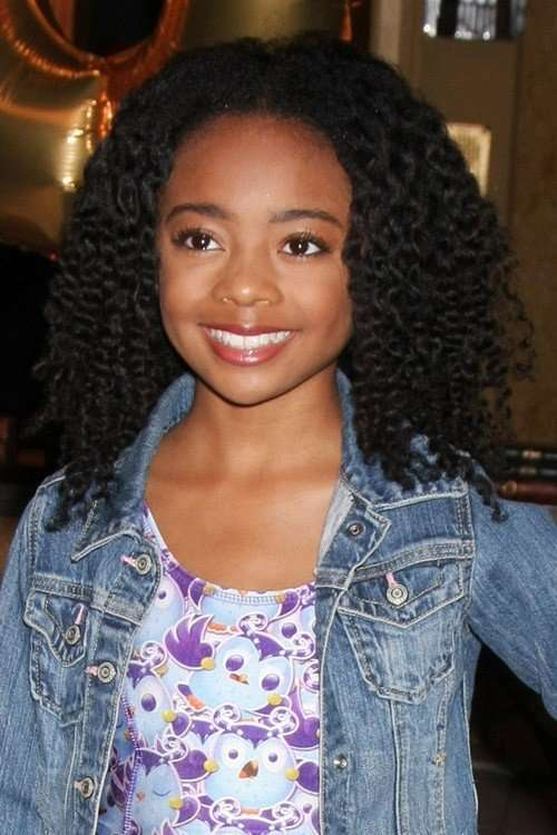 skai jackson natural hair