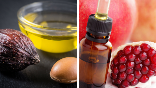 DIY Argan Oil and Pomegranate Oil Moisturizing Serum