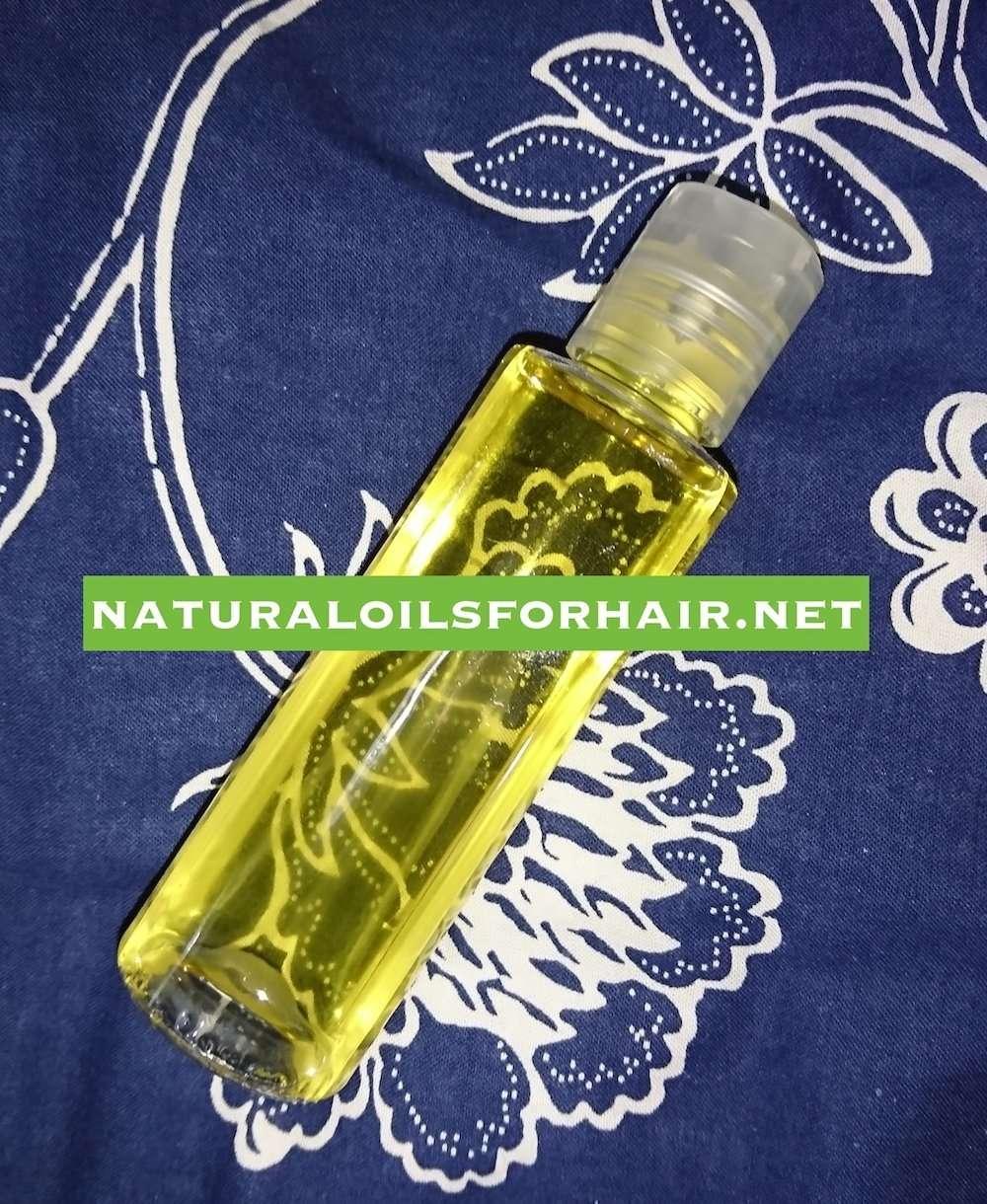 DIY pubic hair oil