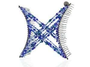 Hairzing Double Cross Dark Blue- Large