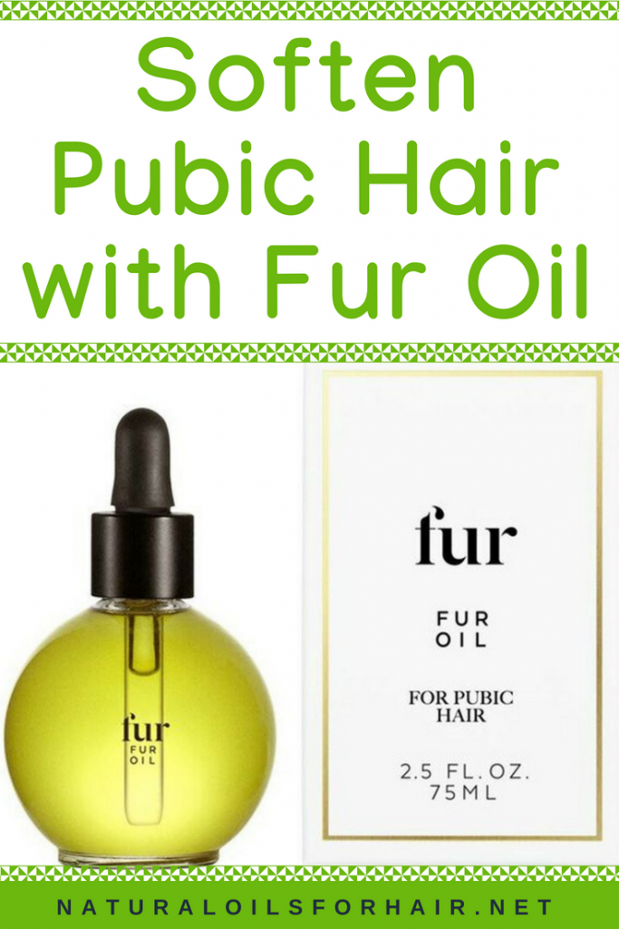 Soften Pubic Hair with Fur Oil