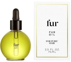 fur oil for pubic hair