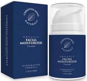 Christina Moss Naturals Organic Facial Moisturizer Unscented