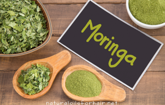 DIY moringa mask recipes for dry and dull hair