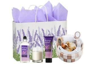 Heavenly Retreat Gift Set - Bath & Body Works Stress Relief Eucalyptus Tea