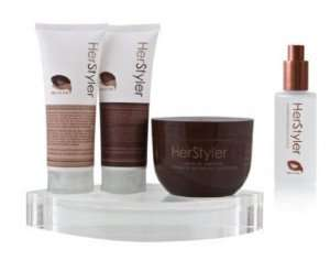 Her Styler Argan Oil complete set