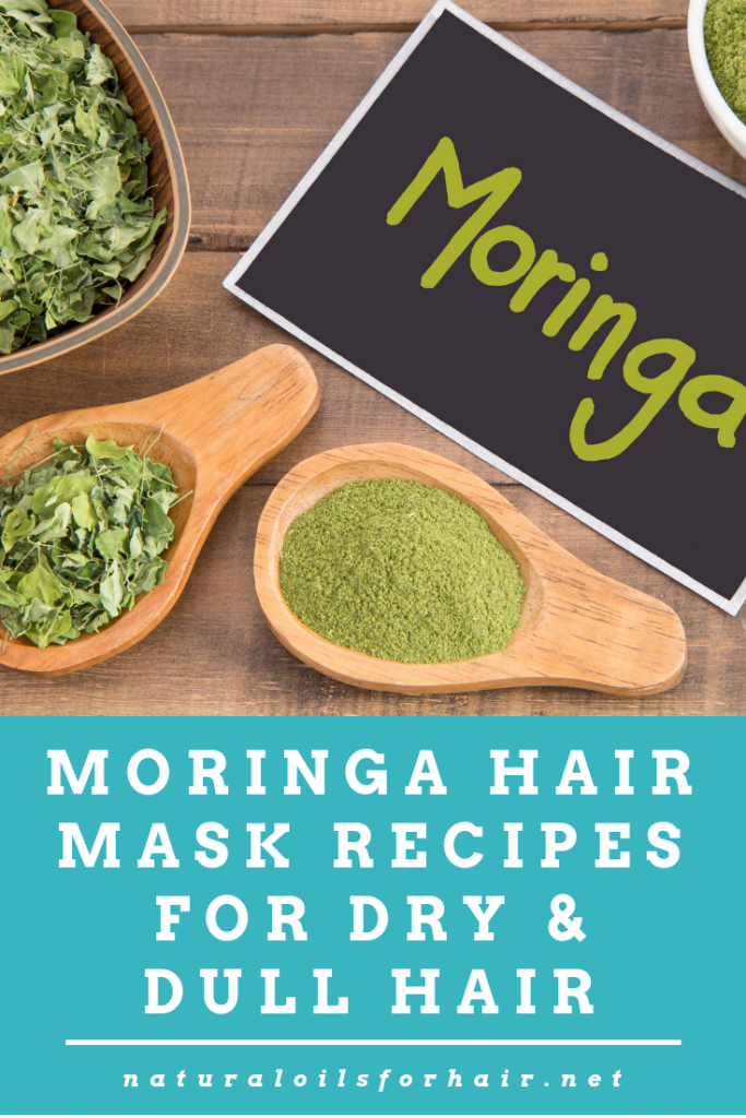 Moringa Hair mask Recipes for dry & dull hair