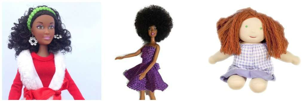 natural hair dolls for little girls
