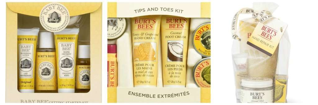 burt bees holiday gifts