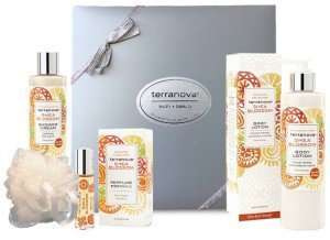 Terranova Shea Blossom Perfume, Shea Butter Moisture Lotion and Shower Gel Gift Set