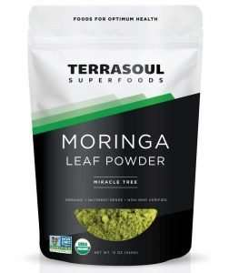 Terrasoul Superfoods Organic Moringa Leaf Powder